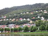 Byparken y la subida al Fløyen, Bergen.