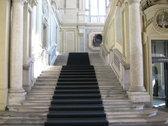 en el interior de Palazzo Madama
