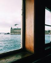 Ferry ride in Bosphorus