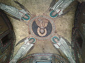 mosaic of an early christian church
