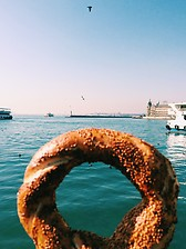 Simit and Bosphorus