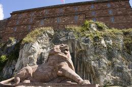 Le lion de Belfort et le château