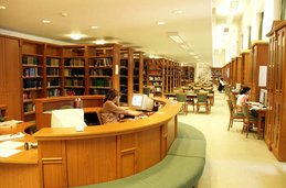 una biblioteca(hay muchos...)