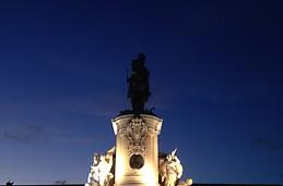 À Praça do Comércio (de novo)