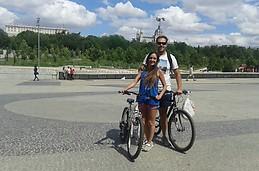 Día de bici en Madrid!
