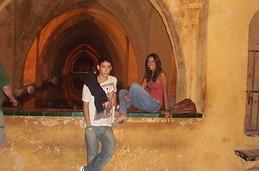 En los baños del Alcázar