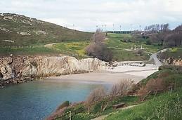 Playa de La Lagoa.