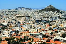 Widok z Akropolu