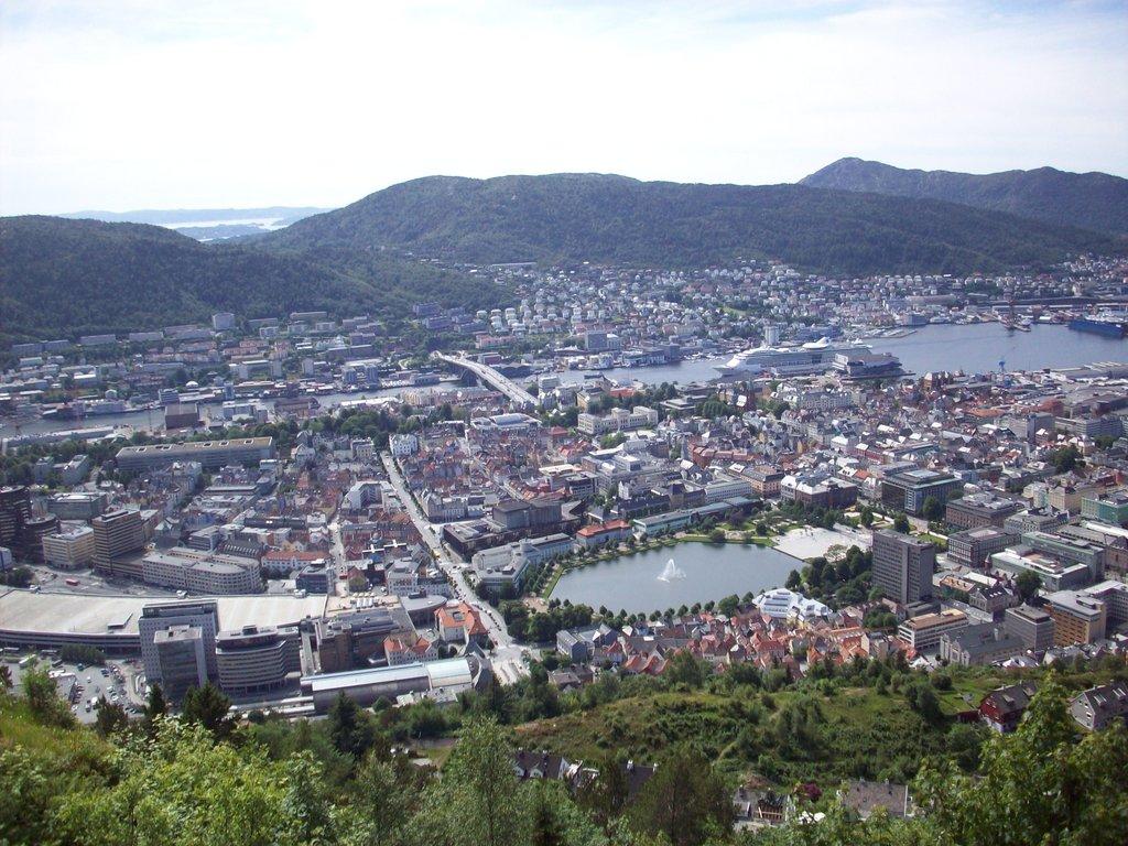 Bergen desde Floyen