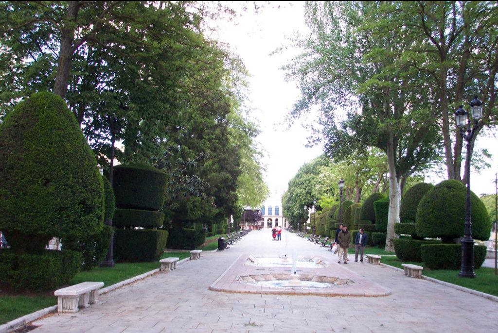 Paseo del Espolón  Foto Erasmus Burgos