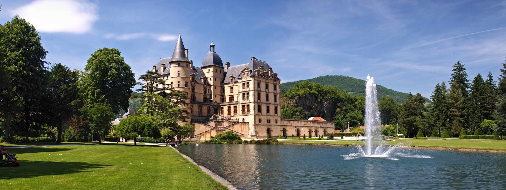Chateau de Vizille, Isere, France  № 156851 бесплатно