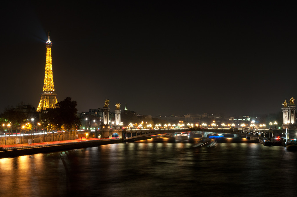night in paris