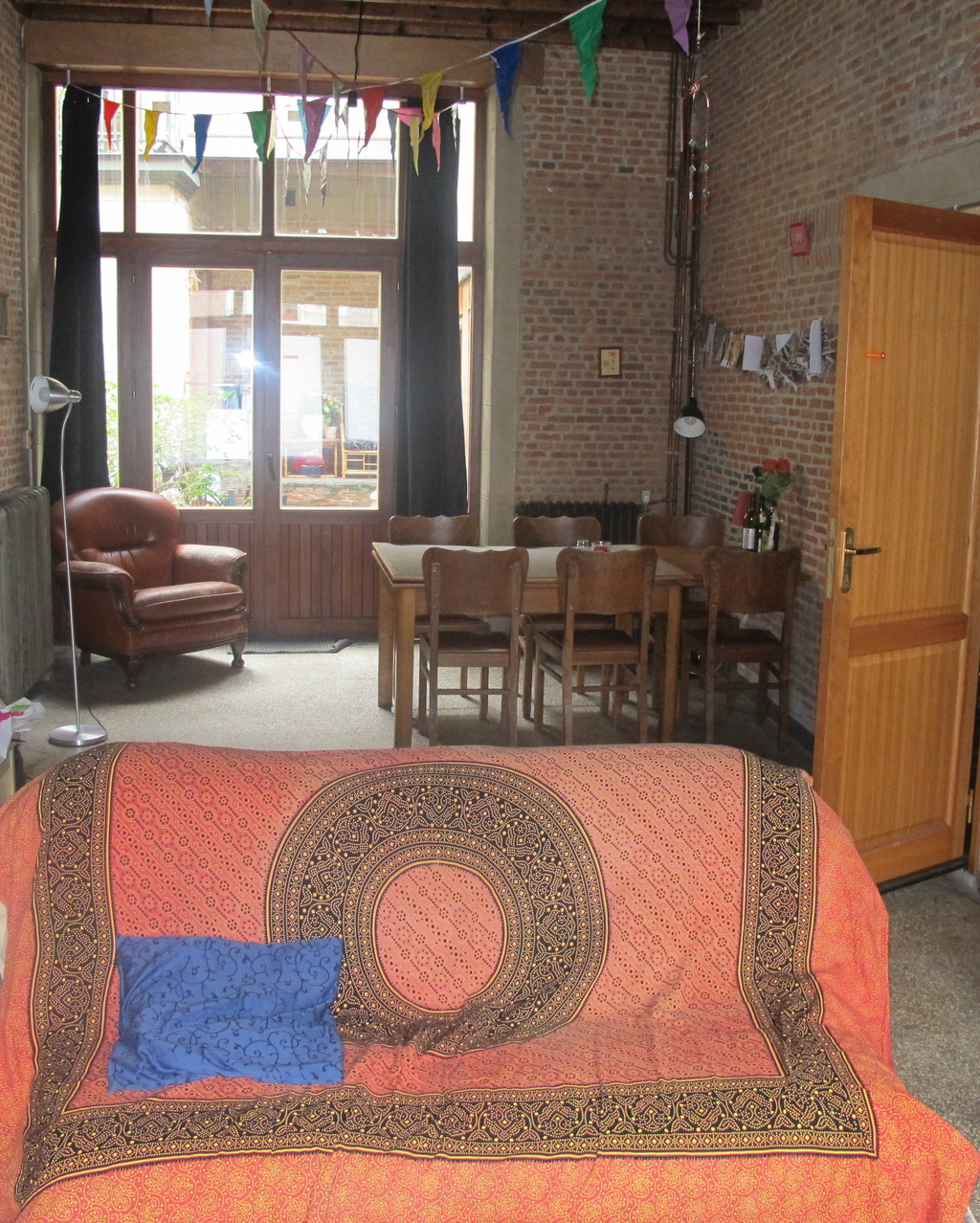 Is there a house or flat sharing or even room renting culture in Antwerp, Belgium?