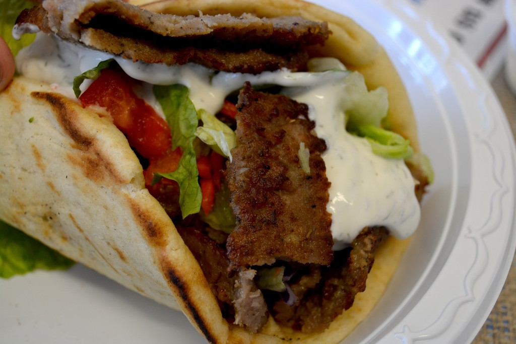 "The Ultimate Pleasure of ""Greek Gyros""! 
