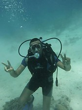 diving time