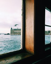 Ferry ride in Bosphorus