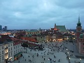 La città vecchia dall'alto.