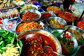 La gastronomia en la calle