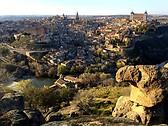 La vista desde la Piedra del rey Moro