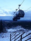 Levi ski slopes!