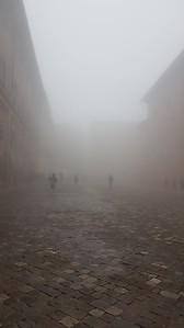 Niebla en Urbino.