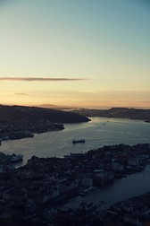 On the top of Bergen