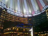 One of the many buildings in Sony Center