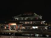 Restaurante en medio del canal