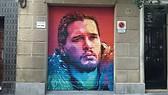 Street Art Jon Snow