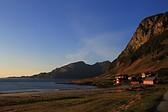 Sunset at Grøtfjord