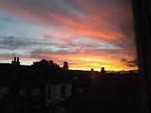 Sunset in Sheffield