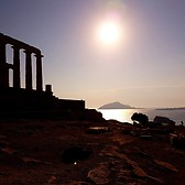 Sunset at The Temple of Poseidon