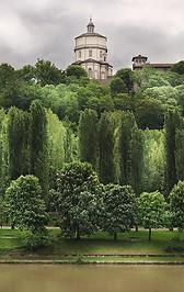 Torino - Il Po e il Monte dei Cappuccini