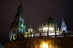 Catedral (Santiago de Compostela) by night :)