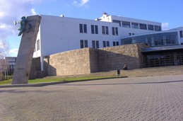 Campus de Braga- Prometeu's Statue