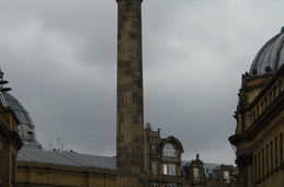 The Monument, la segunda calle central de Newcastle