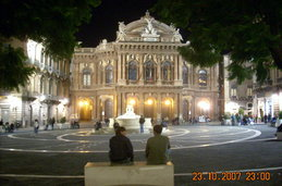Piazza Teatro Massimo Bellini