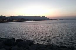 Amanece en Salerno