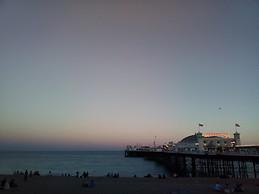 Atardeciendo en Brighton.