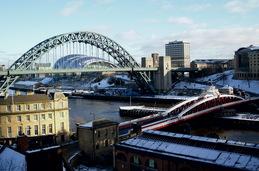 Vista de Newcastle para Gasteshead