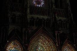 La Cathédrale illuminée