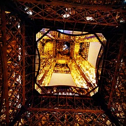 Do stop and stared at this view of eiffel tower for a moment on ur next visit ;)