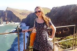 Exploring beautiful nature of Madeira Island.