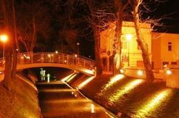 Kielce by night