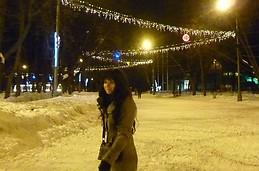 Ice skating in Gorky Park