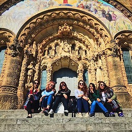 In front of Tibidabo