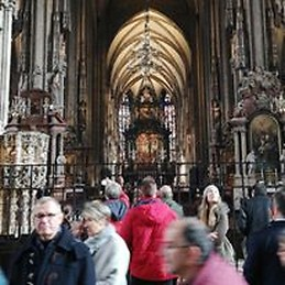 Inside of Stephansdom