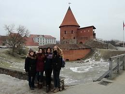 Kaunas Castle en Invierno