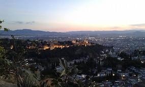 La Alhambra desde Mirador de San Miguel