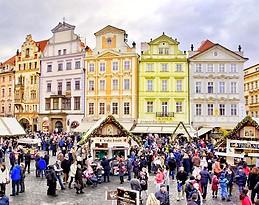 La piazza della città vecchia